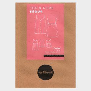 Patron pochette – Top et Robe Ségur (34-52)