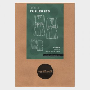 Patron pochette – Robe Tuileries (34-52)