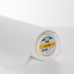 Entoilage thermocollant Vlieseline G770 (spécial molleton extensible)