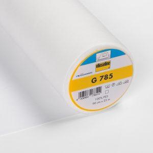 Entoilage thermocollant Vlieseline G785 (spécial tissus fins et fluides) – blanc