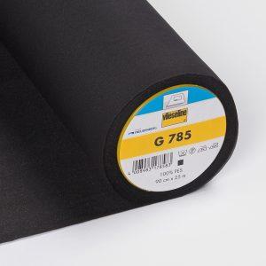 Entoilage thermocollant Vlieseline G785 (spécial tissus fins et fluides) – noir